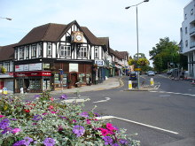 Guildford, 'Top of the Town', Surrey © Colin Smith