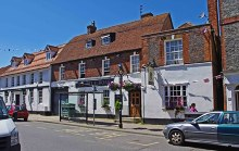 Wantage, The Blue Boar, Berkshire © P L Chadwick